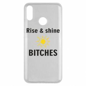Etui na Huawei Y9 2019 Rise and shine bitches