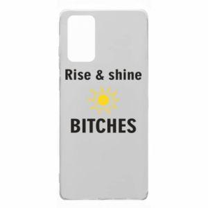 Etui na Samsung Note 20 Rise and shine bitches