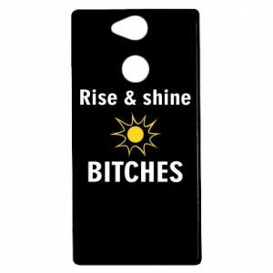 Etui na Sony Xperia XA2 Rise and shine bitches
