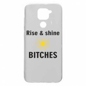 Etui na Xiaomi Redmi Note 9/Redmi 10X Rise and shine bitches
