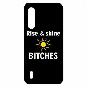 Etui na Xiaomi Mi9 Lite Rise and shine bitches