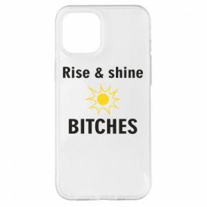 Etui na iPhone 12 Pro Max Rise and shine bitches