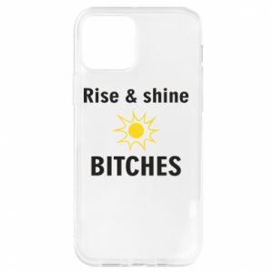 Etui na iPhone 12/12 Pro Rise and shine bitches