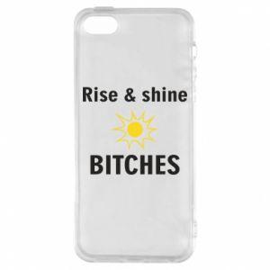 Etui na iPhone 5/5S/SE Rise and shine bitches