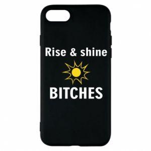 Etui na iPhone 8 Rise and shine bitches
