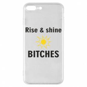 Etui na iPhone 8 Plus Rise and shine bitches