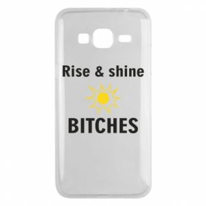 Etui na Samsung J3 2016 Rise and shine bitches