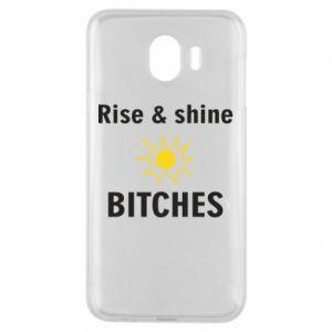 Etui na Samsung J4 Rise and shine bitches