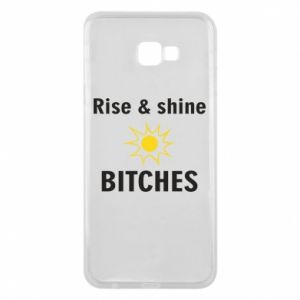 Etui na Samsung J4 Plus 2018 Rise and shine bitches