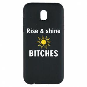 Etui na Samsung J5 2017 Rise and shine bitches