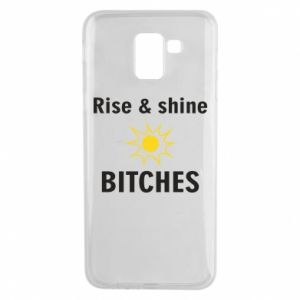 Etui na Samsung J6 Rise and shine bitches