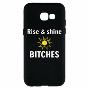 Etui na Samsung A5 2017 Rise and shine bitches