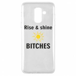 Etui na Samsung A6+ 2018 Rise and shine bitches