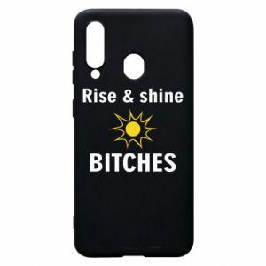 Etui na Samsung A60 Rise and shine bitches