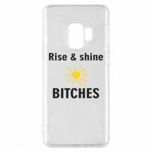 Etui na Samsung S9 Rise and shine bitches