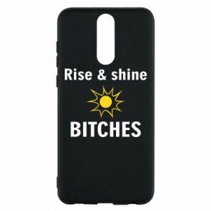 Etui na Huawei Mate 10 Lite Rise and shine bitches