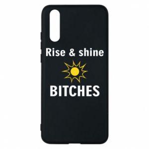 Etui na Huawei P20 Rise and shine bitches