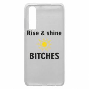 Etui na Huawei P30 Rise and shine bitches