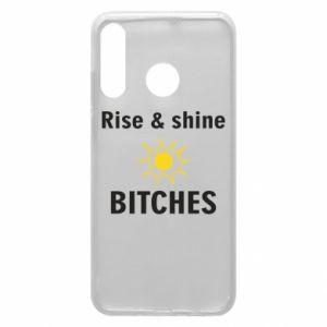 Etui na Huawei P30 Lite Rise and shine bitches