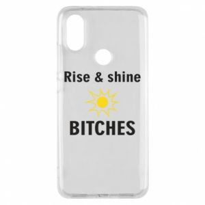Etui na Xiaomi Mi A2 Rise and shine bitches