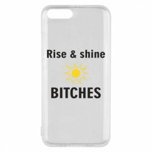 Etui na Xiaomi Mi6 Rise and shine bitches