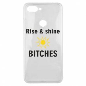 Etui na Xiaomi Mi8 Lite Rise and shine bitches