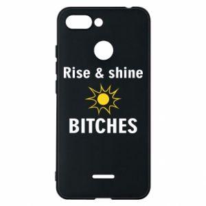Etui na Xiaomi Redmi 6 Rise and shine bitches