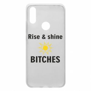 Etui na Xiaomi Redmi 7 Rise and shine bitches