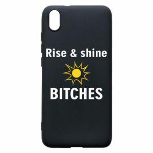 Etui na Xiaomi Redmi 7A Rise and shine bitches