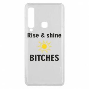 Etui na Samsung A9 2018 Rise and shine bitches