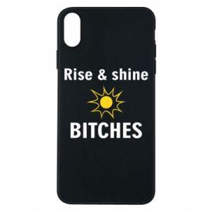 Etui na iPhone Xs Max Rise and shine bitches