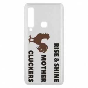 Etui na Samsung A9 2018 Rise and shine mother cluckers