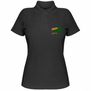 Women's Polo shirt Roarrr - PrintSalon