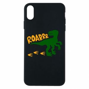 Phone case for iPhone Xs Max Roarrr - PrintSalon