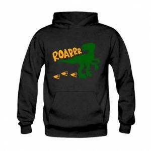Bluza z kapturem dziecięca Roarrr
