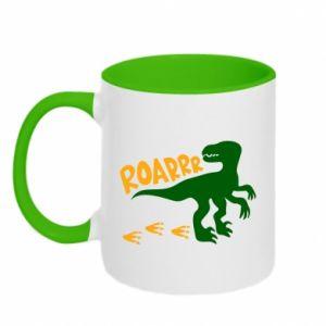 Two-toned mug Roarrr - PrintSalon