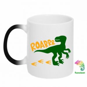 Kubek-kameleon Roarrr