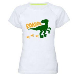 Women's sports t-shirt Roarrr - PrintSalon