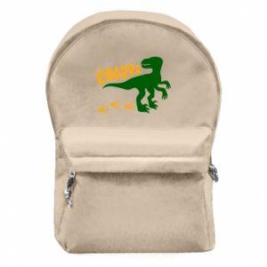 Backpack with front pocket Roarrr - PrintSalon
