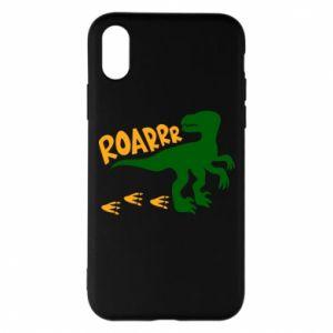 Phone case for iPhone X/Xs Roarrr - PrintSalon