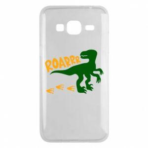 Phone case for Samsung J3 2016 Roarrr - PrintSalon