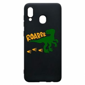 Phone case for Samsung A20 Roarrr - PrintSalon