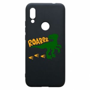Phone case for Xiaomi Redmi 7 Roarrr - PrintSalon