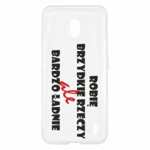 Etui na Nokia 2.2 Robię brzydkie rzeczy ale bardzo ładnie