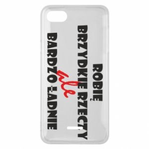 Phone case for Xiaomi Redmi 6A I do ugly things but very nice - PrintSalon