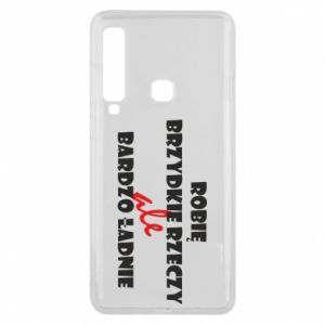 Phone case for Samsung A9 2018 I do ugly things but very nice - PrintSalon