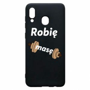 Phone case for Samsung A20 I'm doing mass - PrintSalon