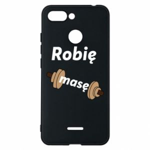 Phone case for Xiaomi Redmi 6 I'm doing mass - PrintSalon