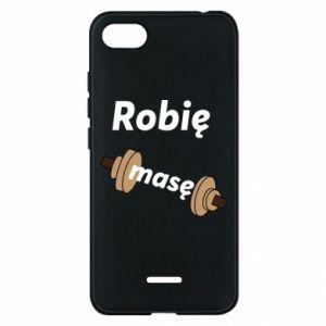 Phone case for Xiaomi Redmi 6A I'm doing mass - PrintSalon