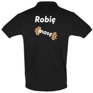 Koszulka Polo Robię masę